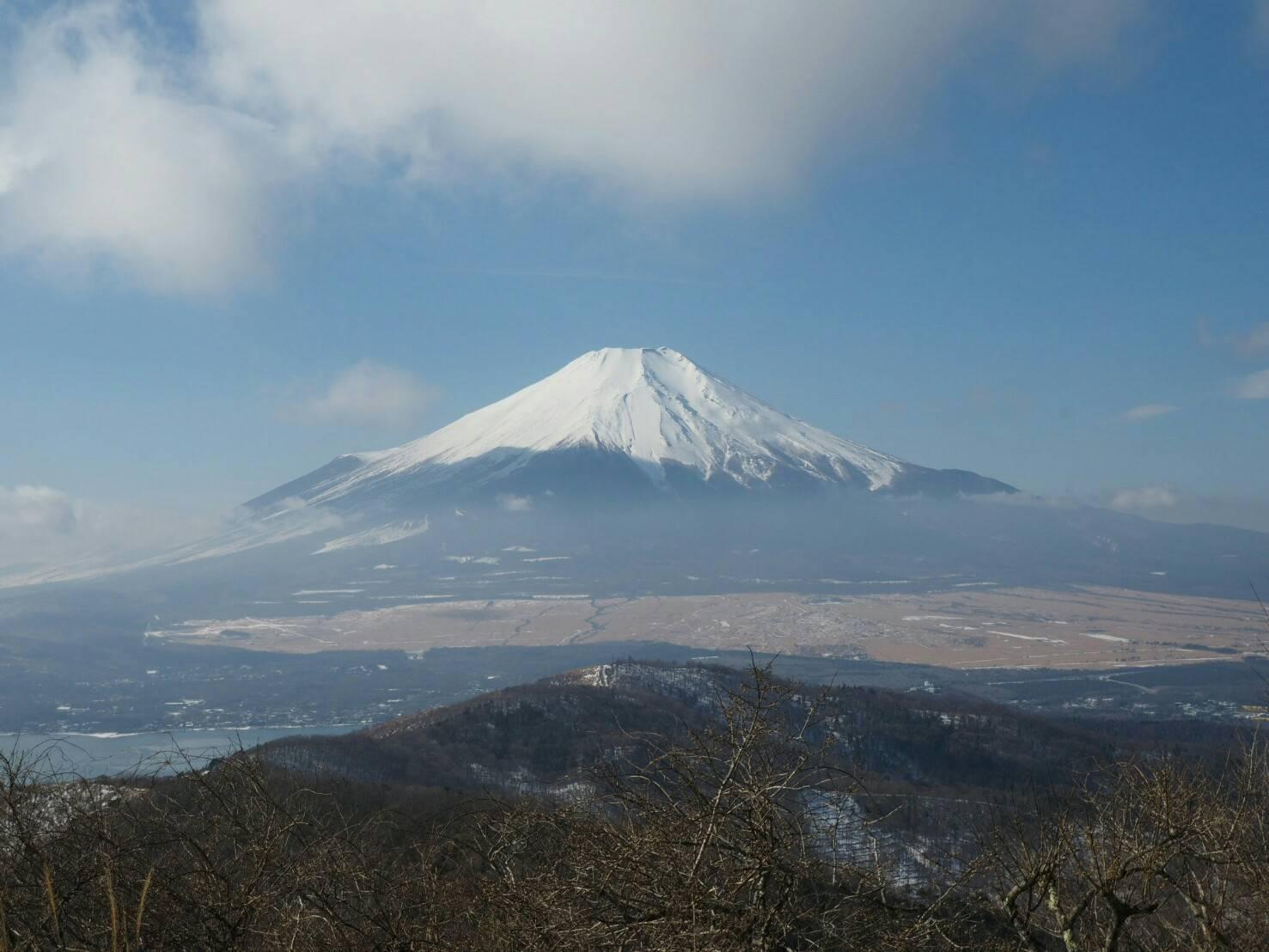富士山を石割山から愛でる