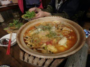 海鮮鍋最高!